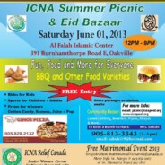 ICNA Picnic and free ICNA Relief Canada Matrimonial Event June 1