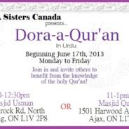 ICNA sister's Dora-e-Quran in Urdu