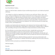 ICNA writes to Prime Minister